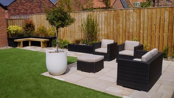 garden design by elmfield garden design; build by landscape 35 in Newcastle