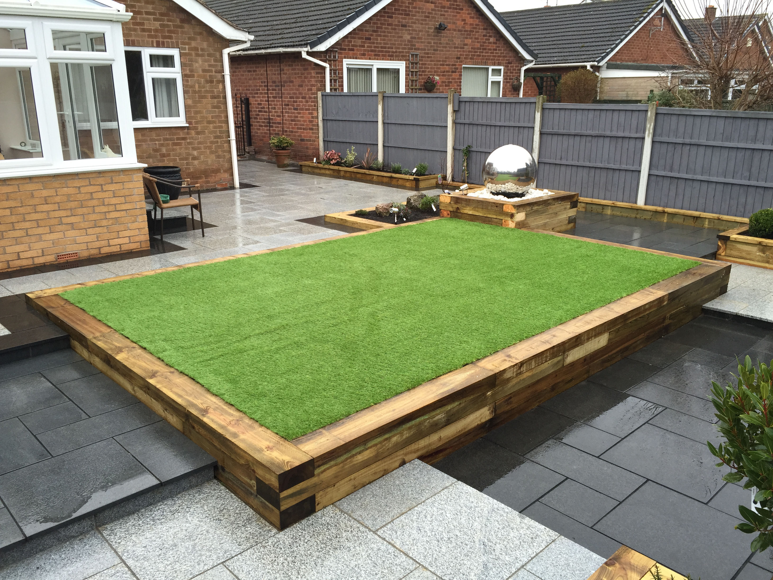 Garden renovation in nottinghamshire by landmark garden design