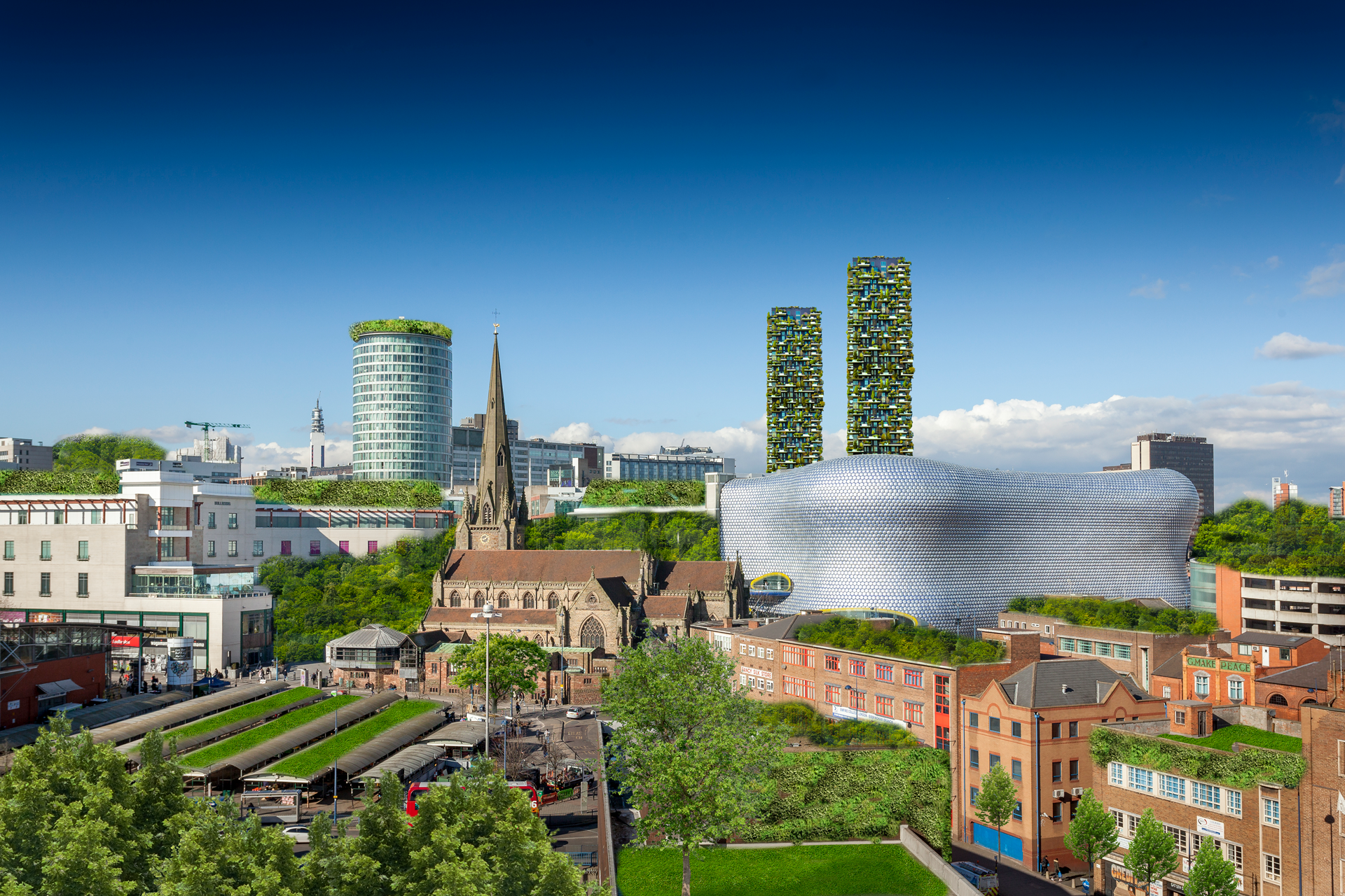 Birmingham reimagined city