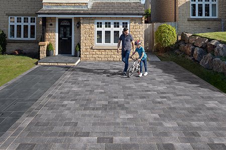 House builder driveway products for new build homes