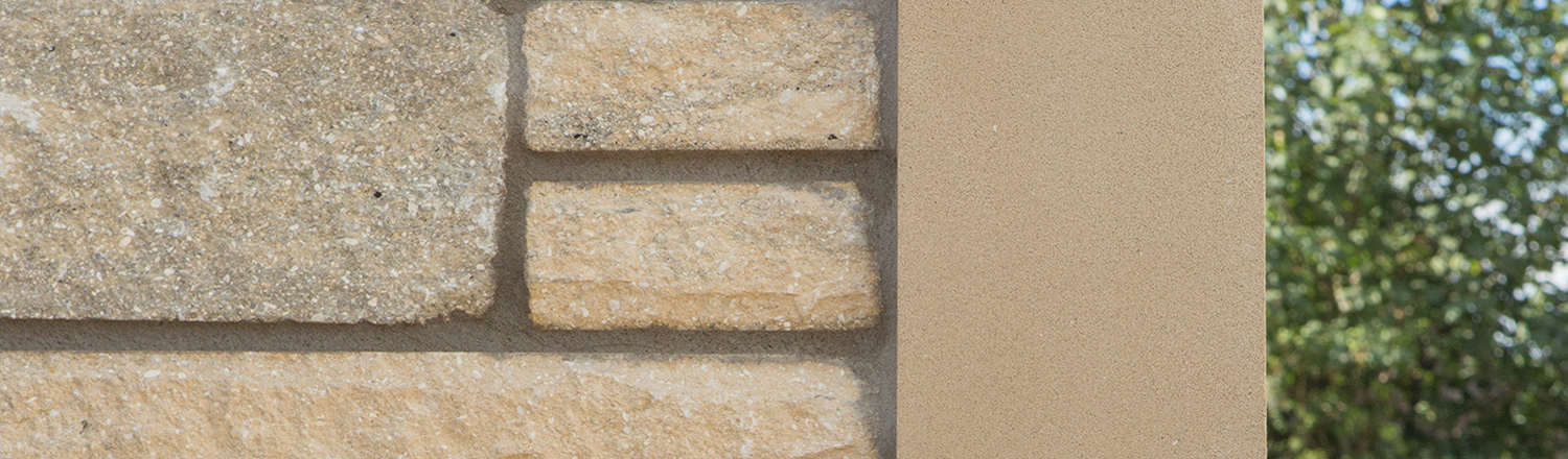 Semi-dry and fibre reinforced cast stone