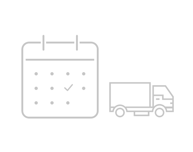 Production and delivery icon