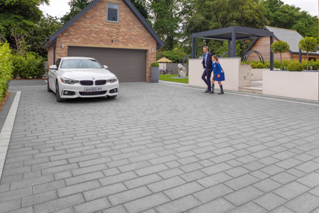 Driveway products for builders to lay alongside housing developments