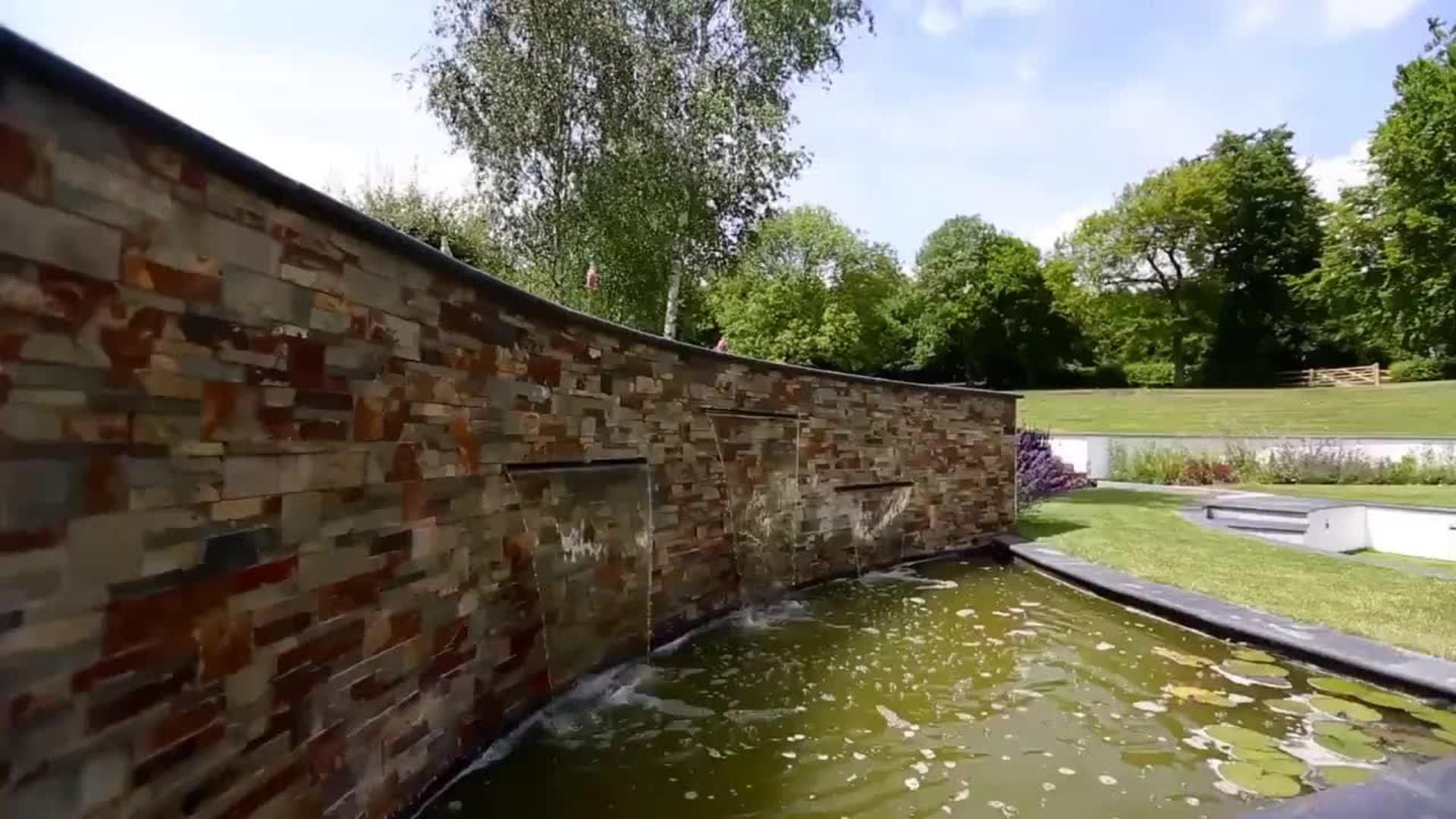 View Garden Fly Through: Stoneface Drystack Veneer Walling video
