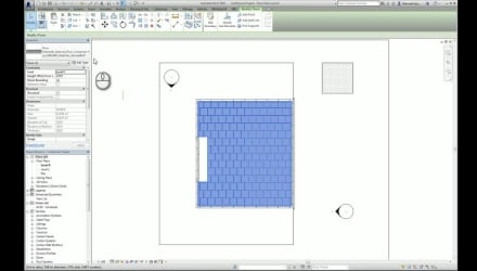 Applying Bim Objects Into A Revit Project Paving
