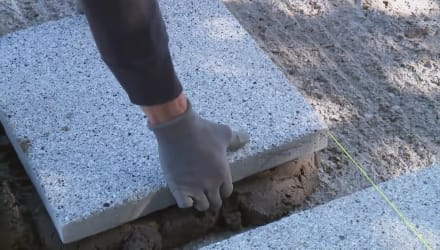 How To Install Concrete Flag Paving Rigidly
