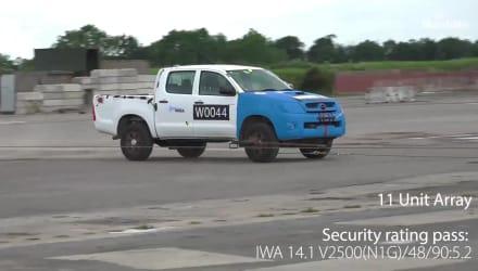 Gatekeeper Crash Test 5 And 11 Unit Array