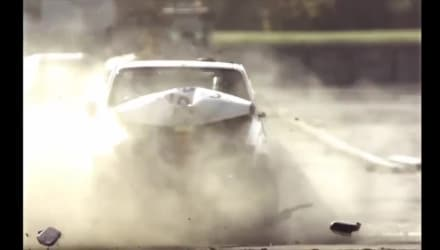 Rhinoguard 25-40 Bollard Crash Test