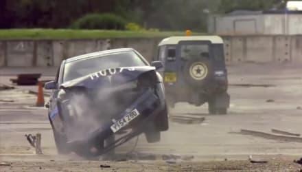 Rhinoguard Bollard Crash Test