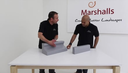 Marshalls Titan Specialist High Containment Kerb System