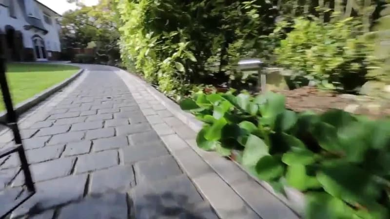 Driveway Fly Through: Drivesys Split Stone