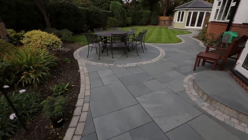 Garden Fly Through: Fairstone Casarta Slate