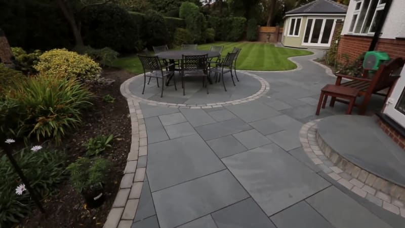 Garden Fly Through: Fairstone Casarta Slate