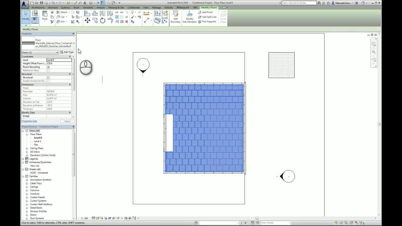 Applying Bim Objects Into A Revit Project Paving