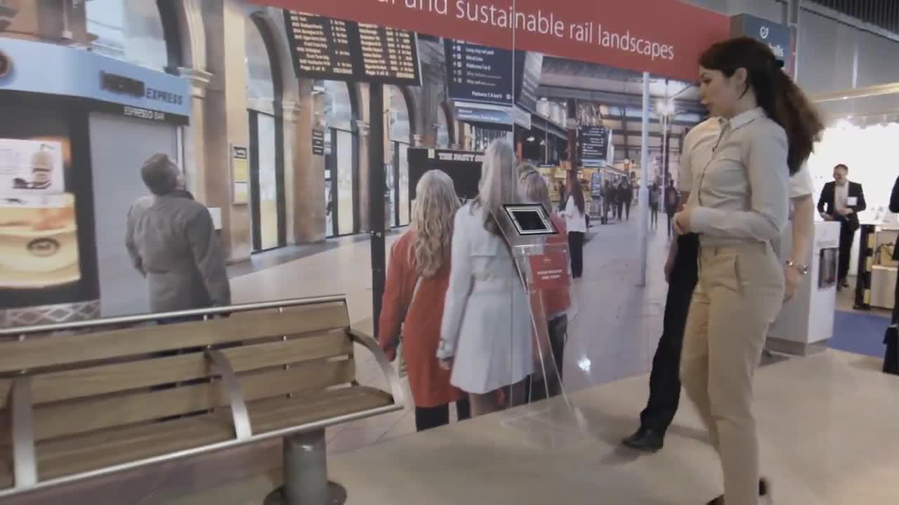Enhancing The Rail Passenger Experience- Railtex 2015