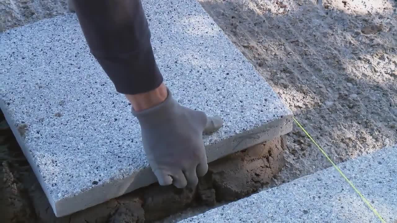 How To Install Concrete Flag Paving Rigidly