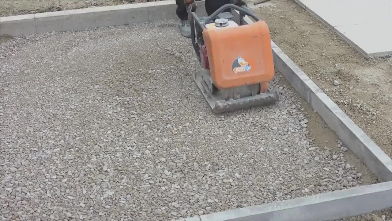 Installing A Type A Priora Pavement