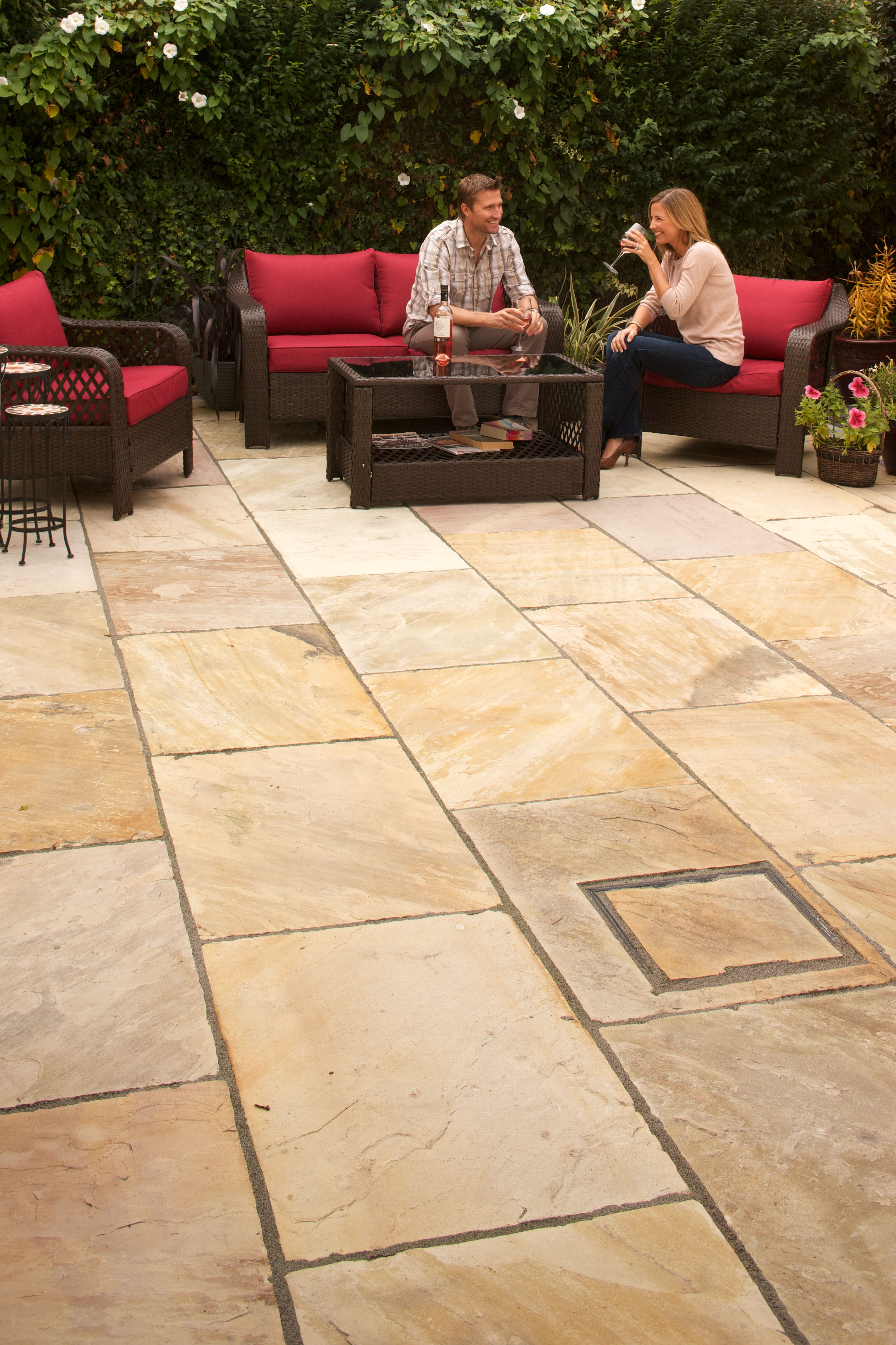 Cleaning Indian Sandstone Paving Slabs How To Clean Indian Sandstone Flags Marshalls